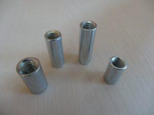 Manchon métallique cylindrique