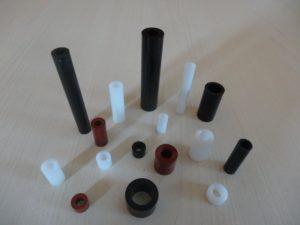 entretoise plastique ronde lisse
